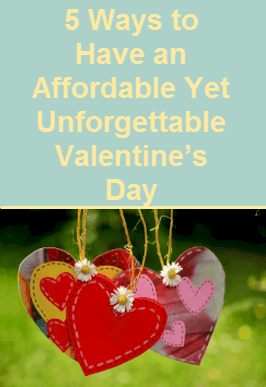 Affordable Valentine's Day, 5 Ways to Have an Affordable Yet Unforgettable Valentine's Day, Surprise at Work, Romantic Night In, Hand Made Cards, Personalise your Passion, Valentine's Day