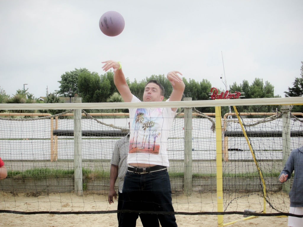 Butlins Review - Beach Volleyball