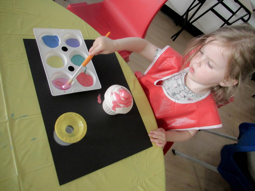 Butlins Review - Pottery Painting