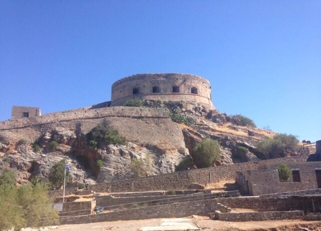 Spinalonga on our Holiday to Crete