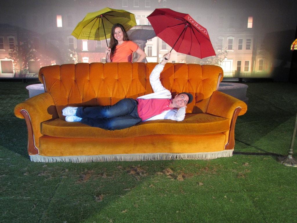 FriendsFest - Opening scene sofa